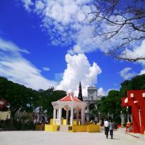 Parque Central o Plaza Mayor de Jutiapa