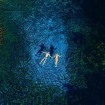 Cráter Azul o Laguna Petexbatún