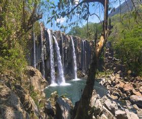 RAPPEL en CATARATAS de LOS AMATES y La Poza del Cañón