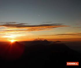 Volcanes Cuxliquel y Santa María