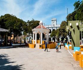 Parque Central o Plaza Mayor de Jutiapa