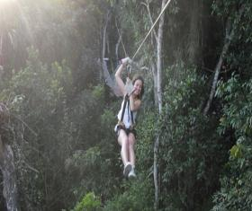 Canopy Tour Tikal