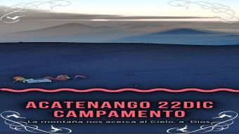 Volcán Acatenango (campamento)