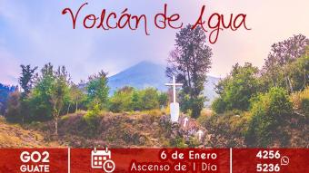 Volcán de Agua - Ascenso de un día