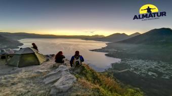 Campamento en el Cerro Cristalino