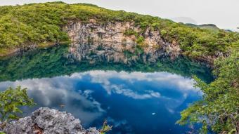 Cenotes de Candelaria y El Cimarrón