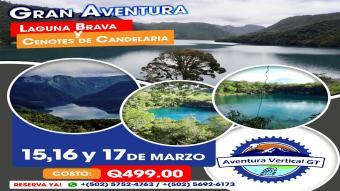 Laguna Brava y Cenotes de Candelaria