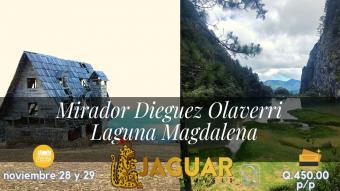 Mirador Dieguez Olaverri - Laguna Magdalena