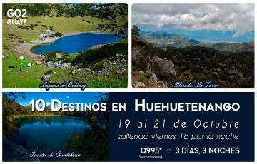 Cuchumatanes, Laguna Brava y 8 destinos más