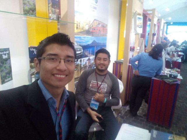 Feria en Inguat