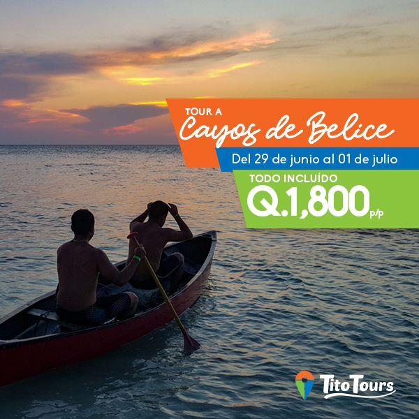 Tour a Cayos Sapotillos, Belice