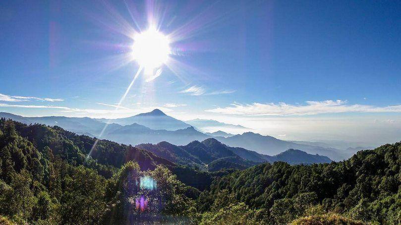 Ascenso al volcán Tajumulco