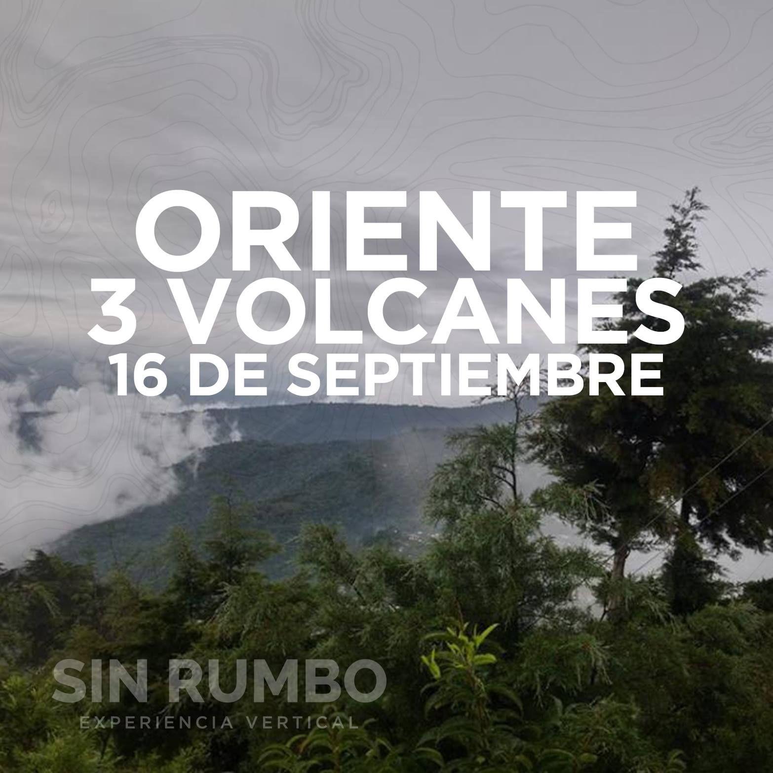 Volcanes Cruz Quemada, Jumaytepeque y Moyuta