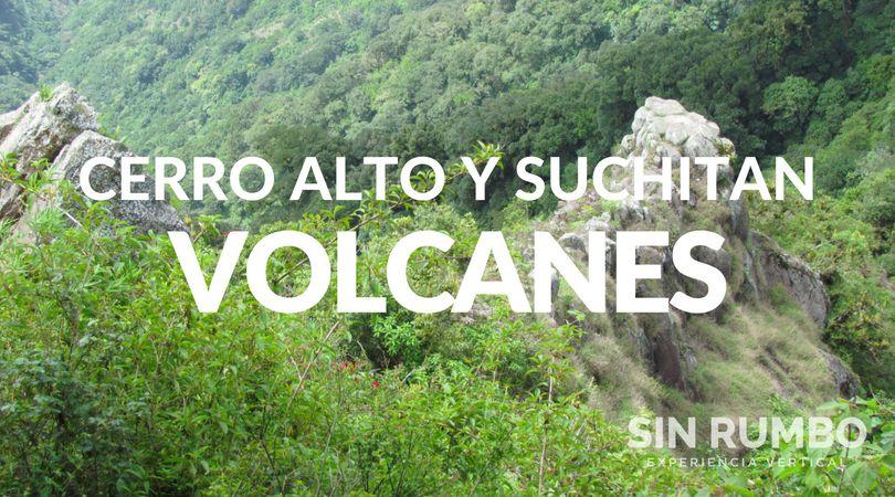 Volcanes Cerro Alto y Suchitan