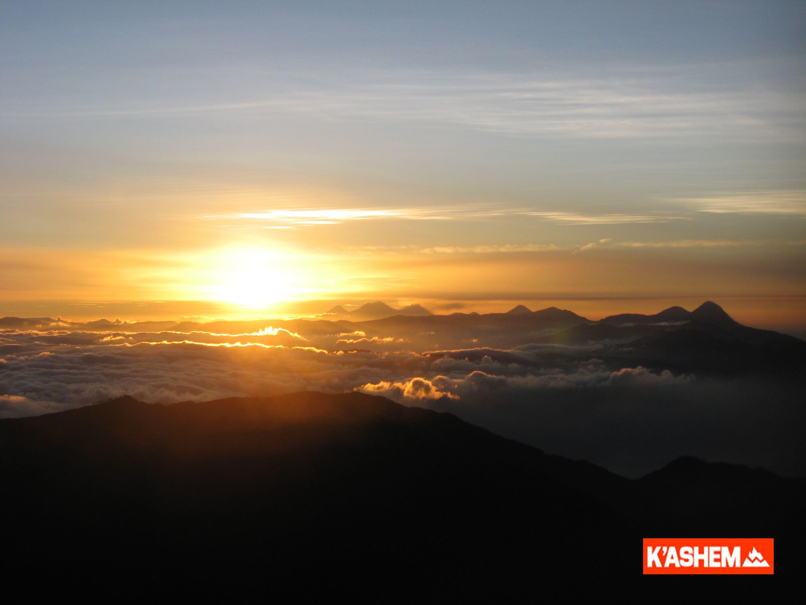Volcán TAJUMULCO ascenso nocturno