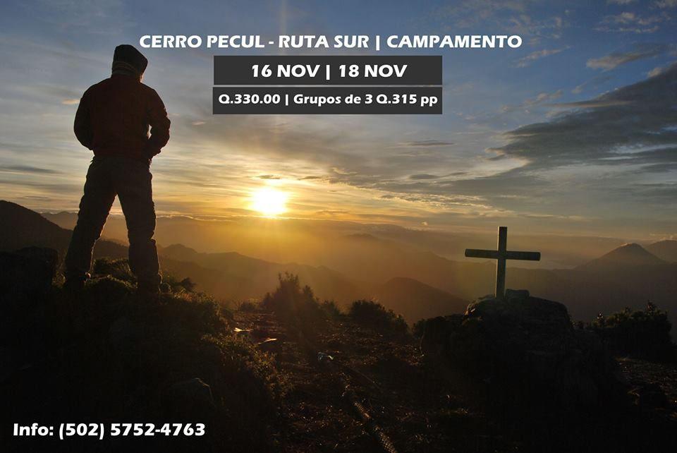 Volcán Pecul | Ruta Sur - Campamento