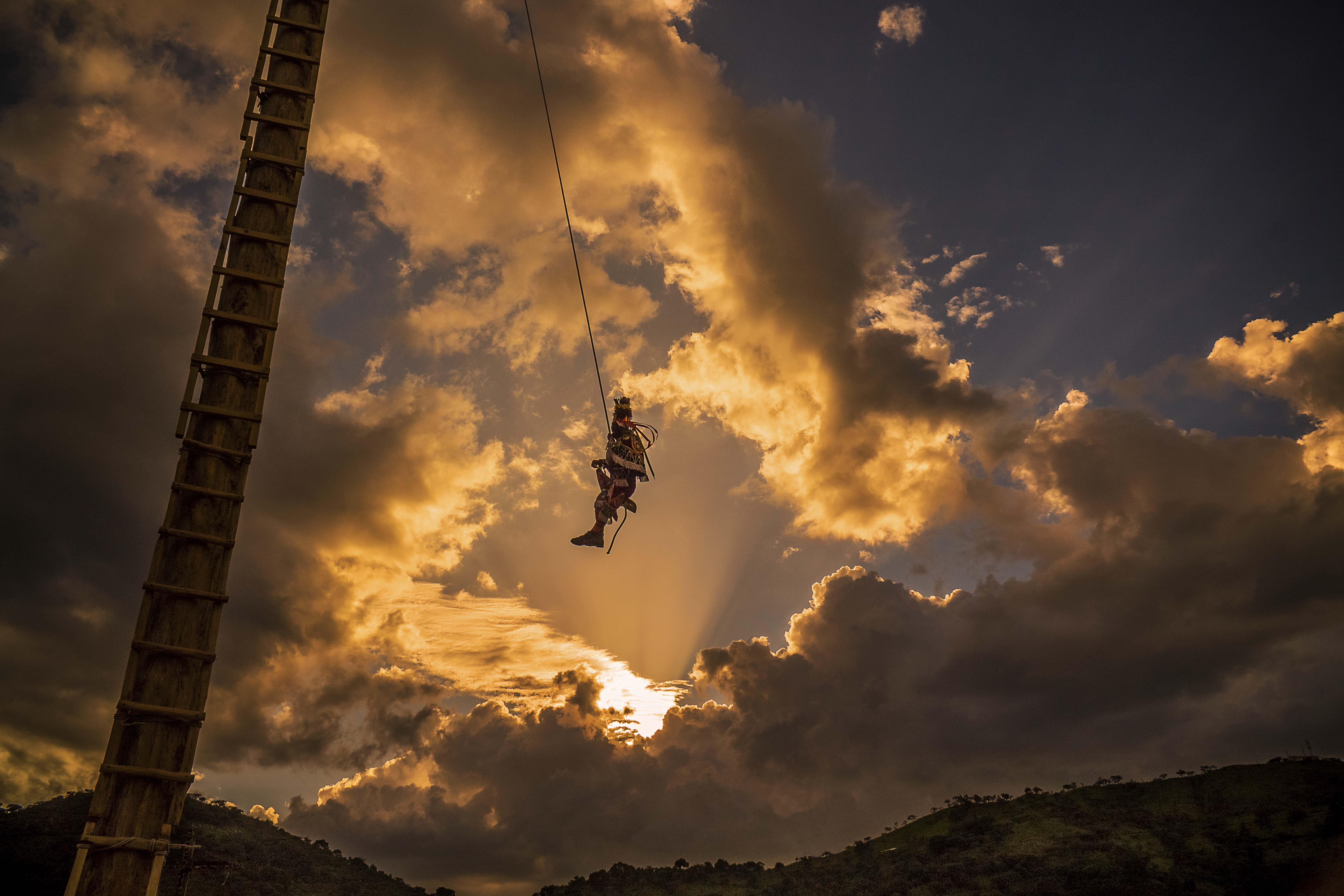 Palo Volador Chichicastenango