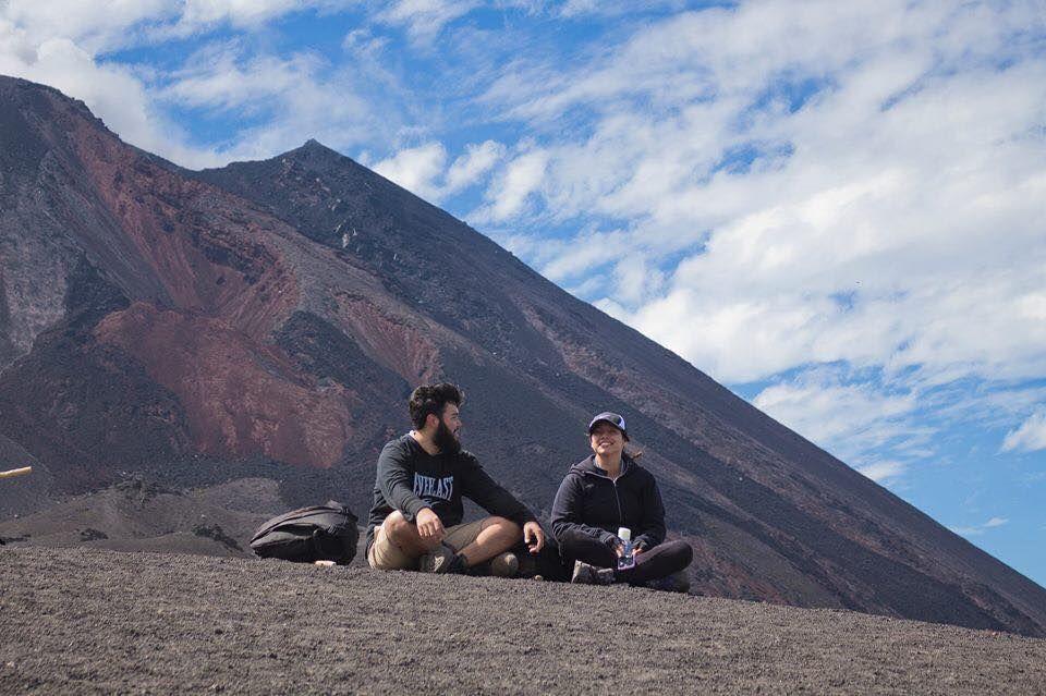 Ascenso al volcán de Pacaya