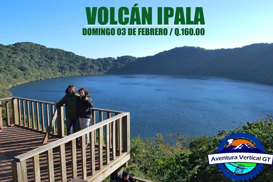 Volcán y Laguna Ipala.