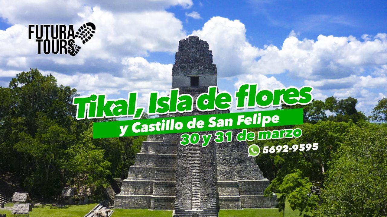 Mundo Tikal y Castilo de San Felipe
