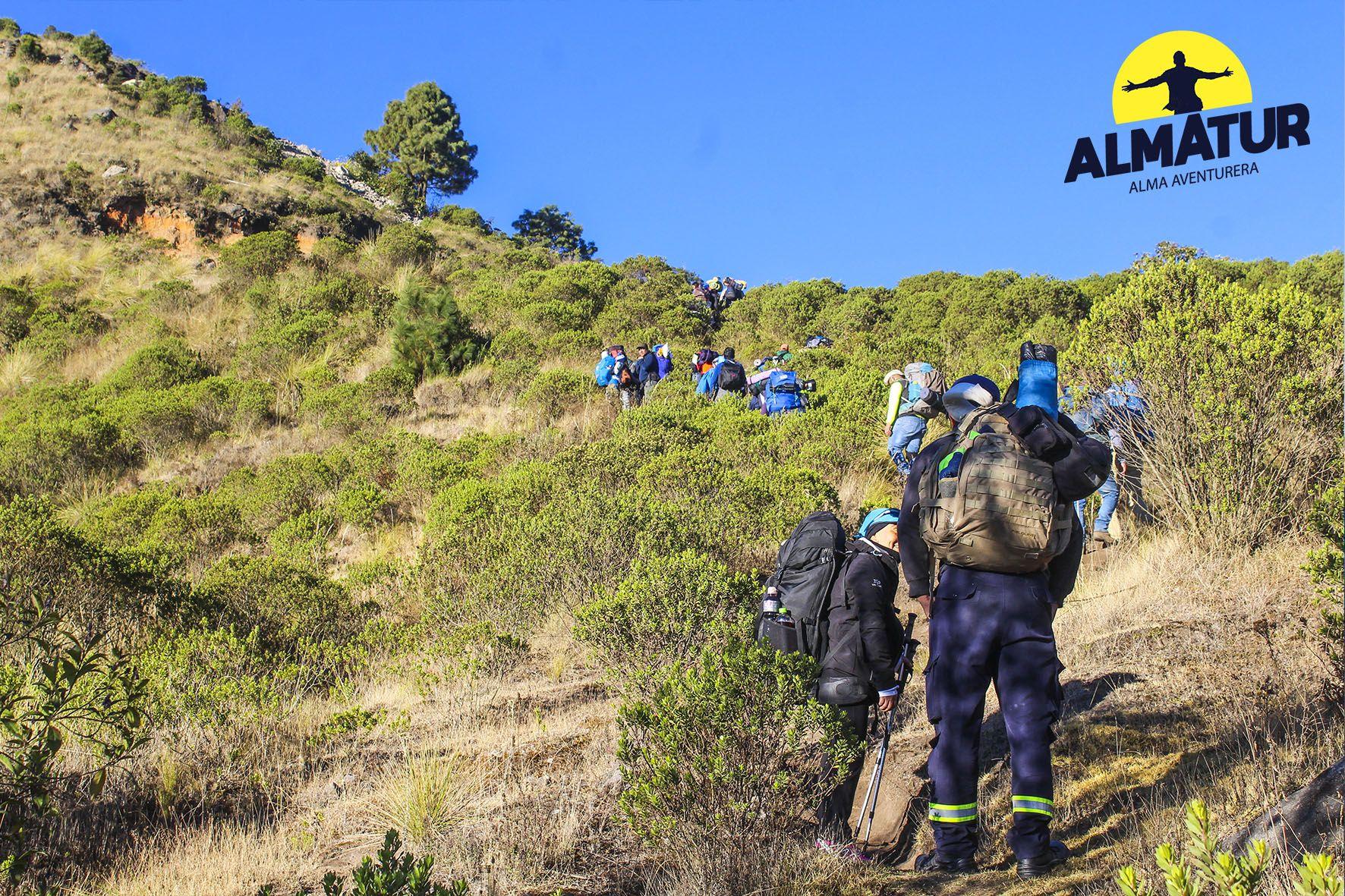 Ascenso a los volcanes Tajumulco y San Antonio