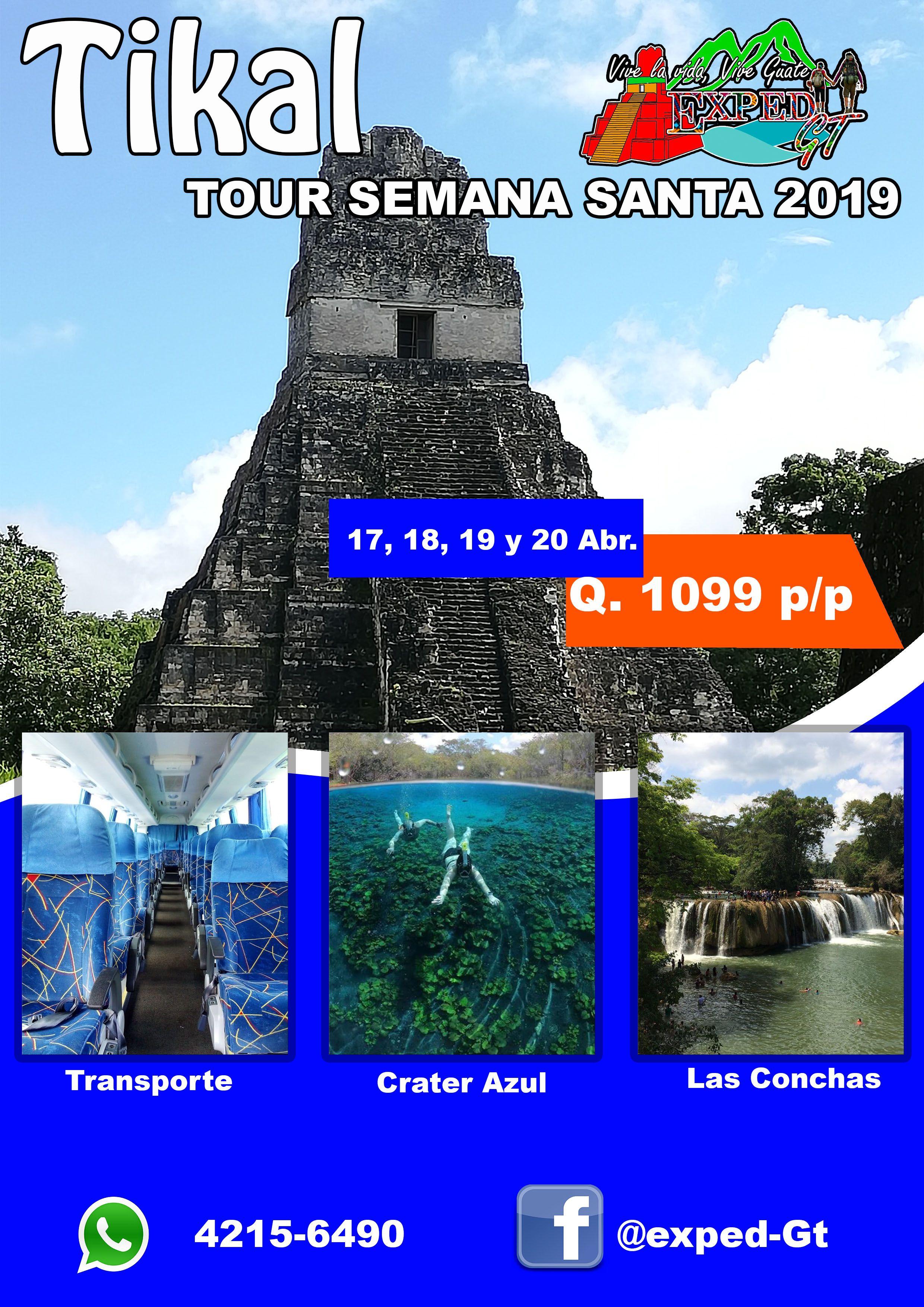 TOUR SEMANA SANTA 2019