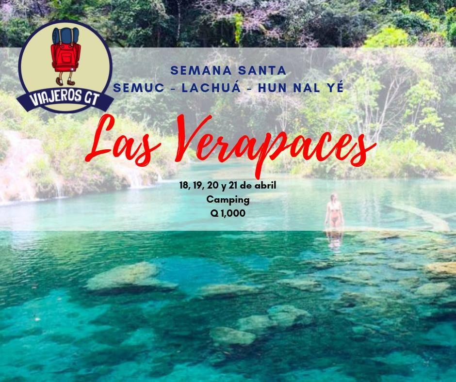 Las Verapaces - Verano 2019