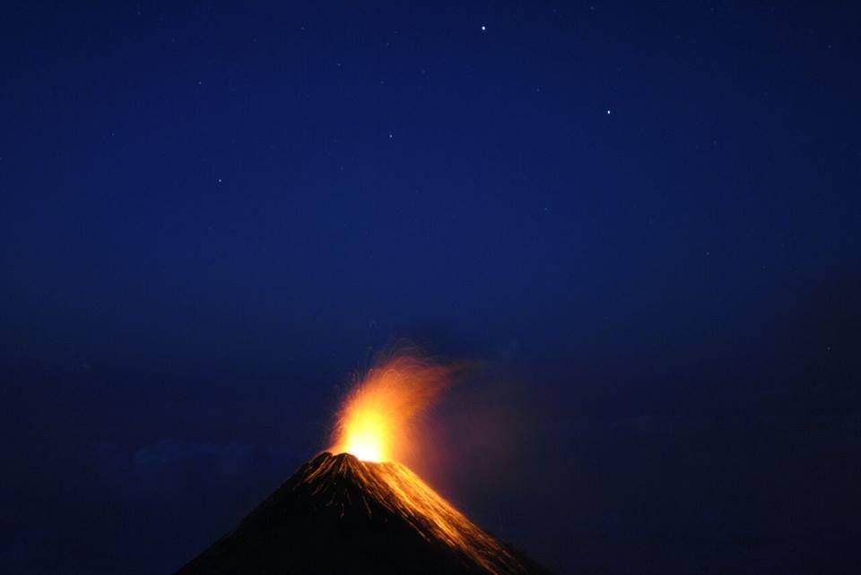 Volcán de fuego |Ascenso Nocturno - Ruta Acatenango o Alotenango