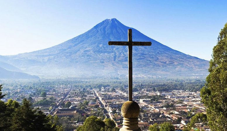 Image result for cerro de la cruz de antigua guatemala