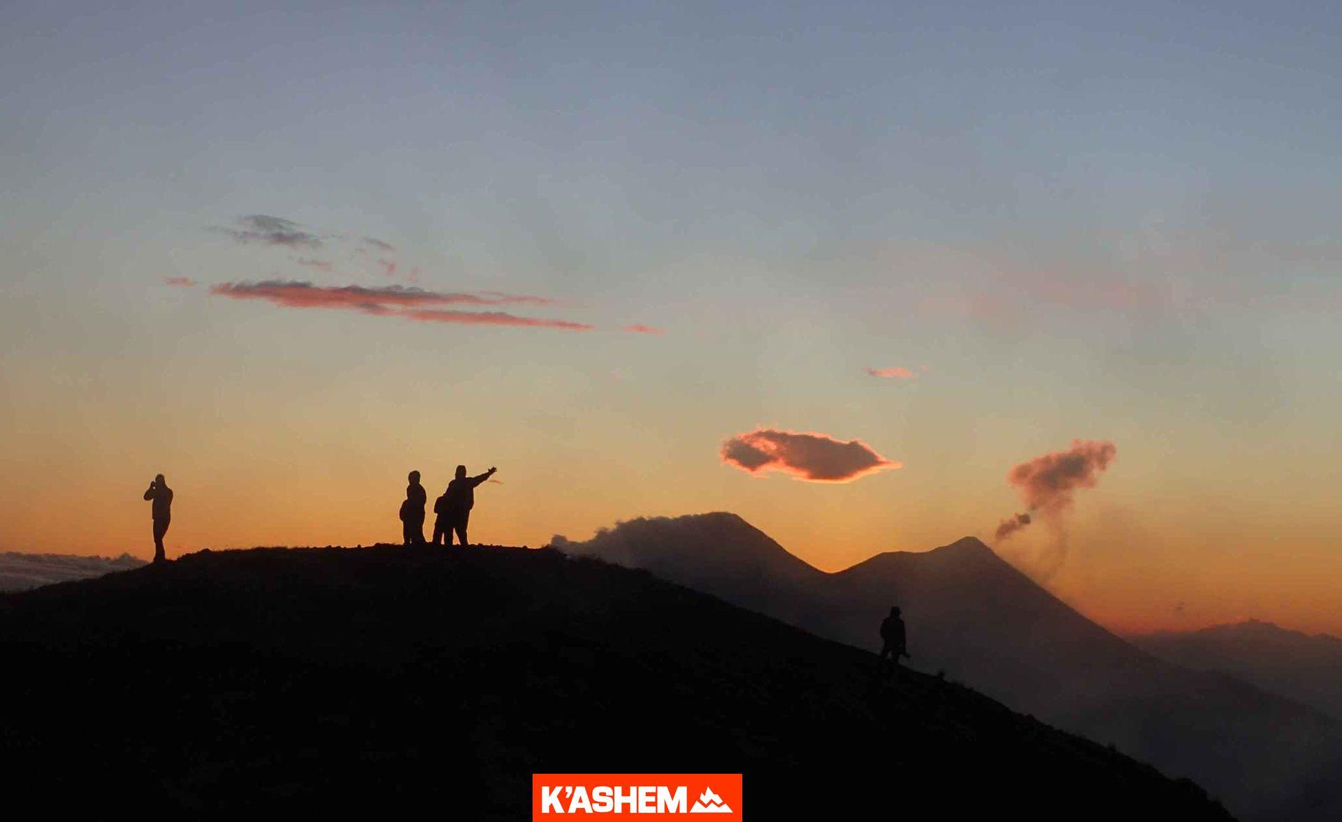 Volcán Atitlán. El gigante de Atitlán.