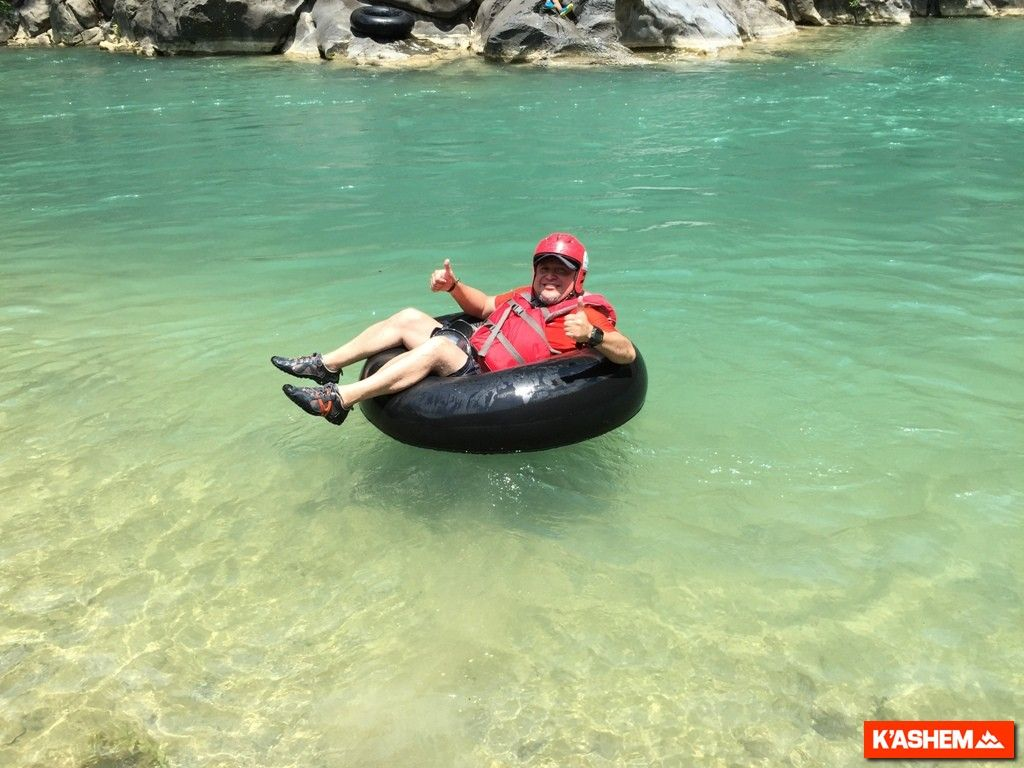 Tubing en Río Chixoy