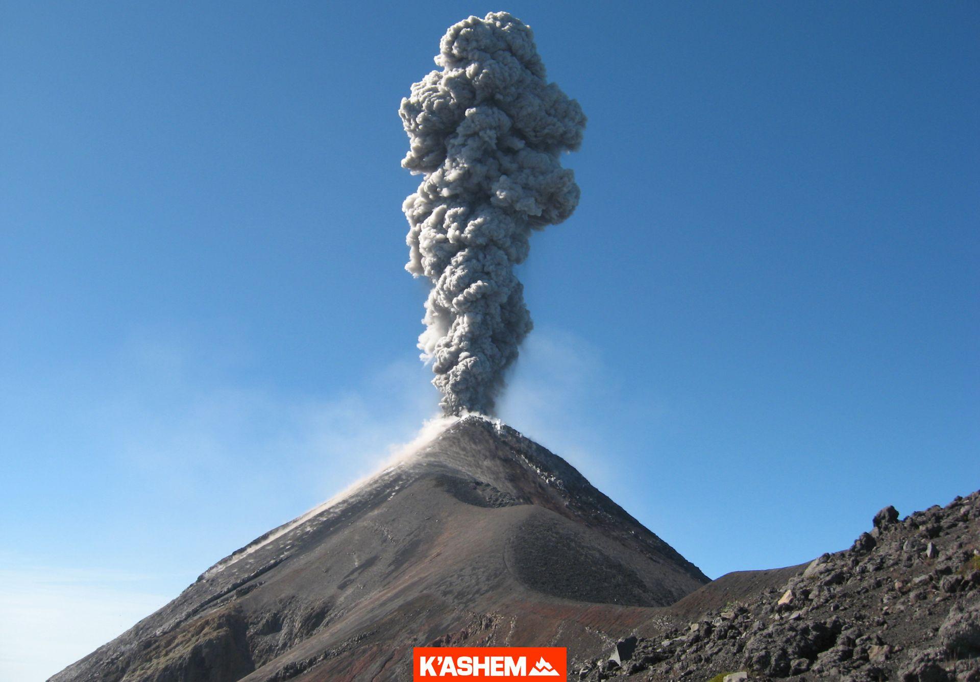 Volcán de FUEGO. Ascenso nocturno