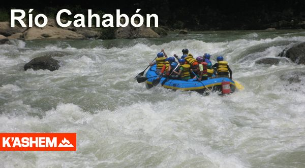 Rafting en Río Cahabón y visita a Semuc Champey