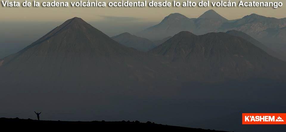 Volcán Acatenango. Campamento de altura.