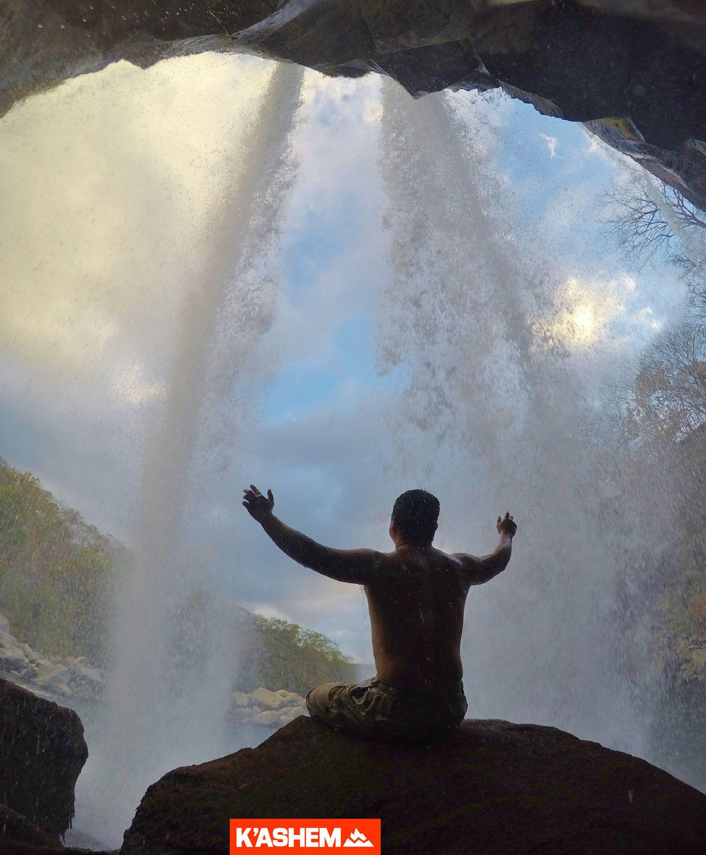 Aventura de rappel en Las Cataratas de Los Amates