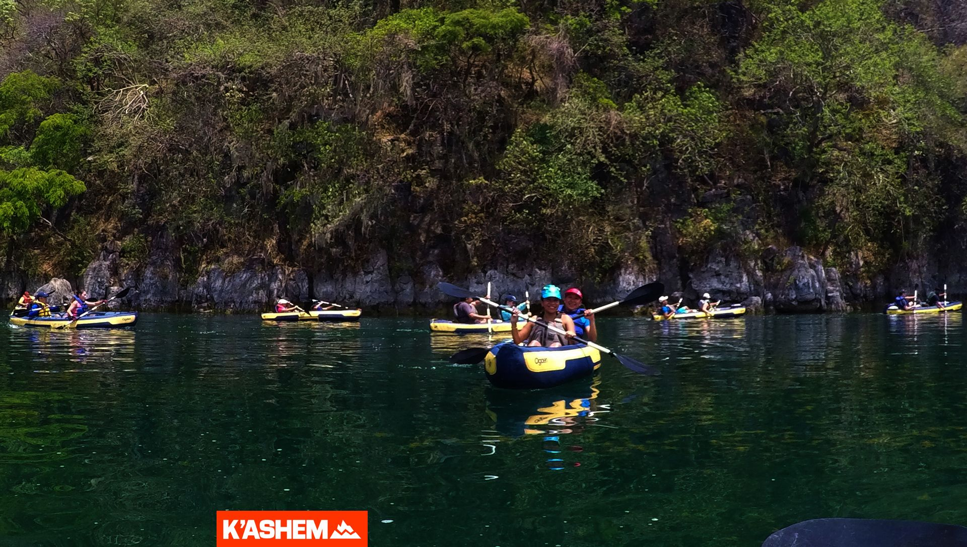 Kayak en La Laguna de Ayarza