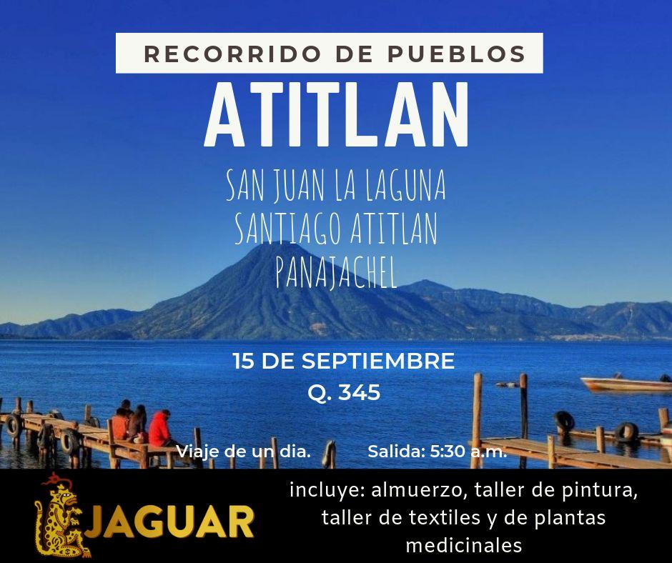 Recorrido de pueblos de Atitlan
