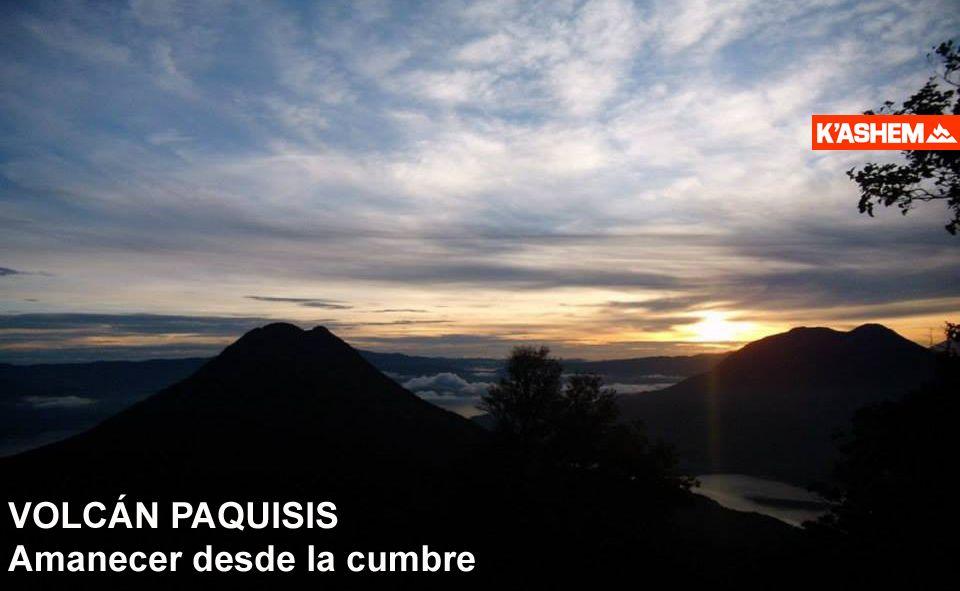 Cerro Cristalino (Nariz el indio) y volcán Paquisis