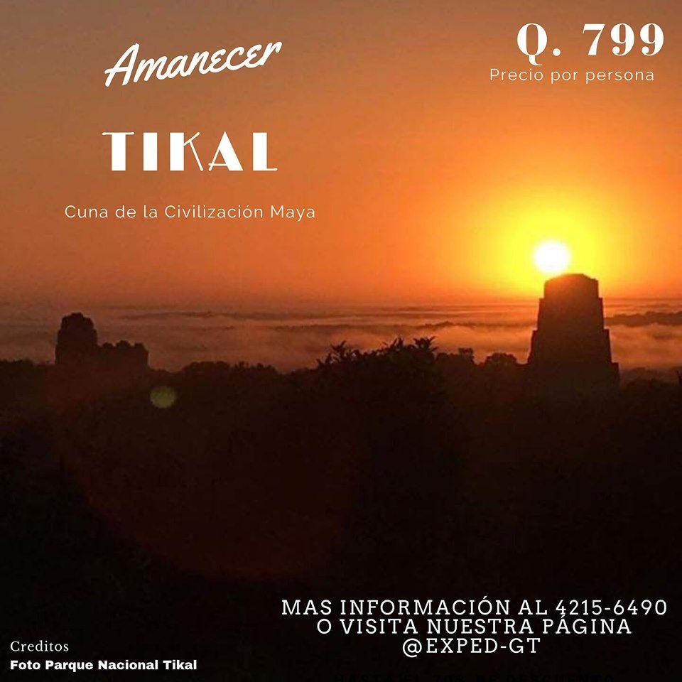 Expedición Amanecer Parque Nacional Tikal