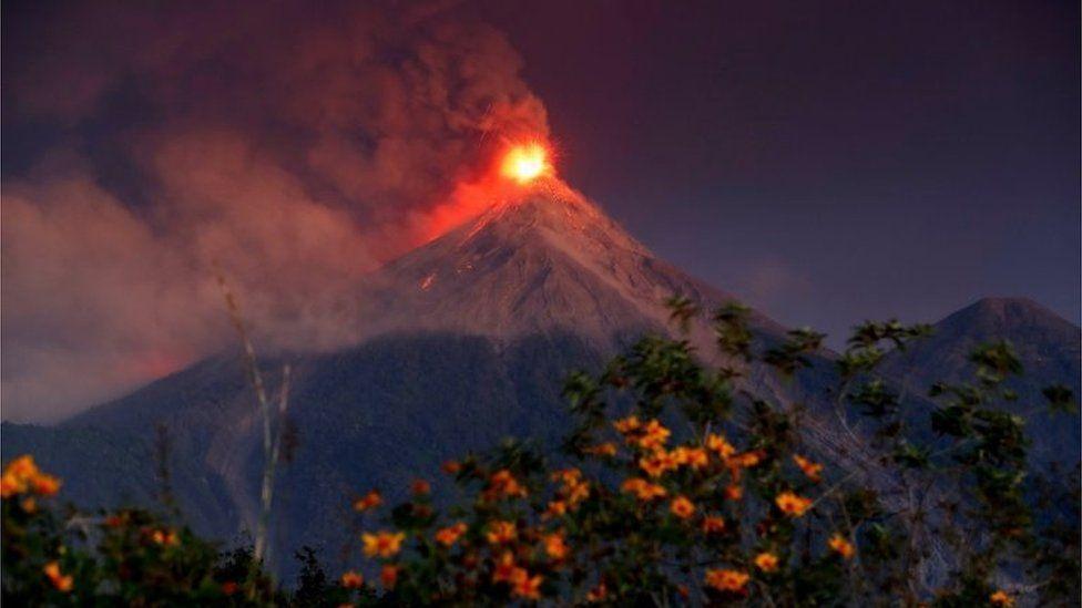 Escala los volcanes de Acatenango-Fuego-Acatenango