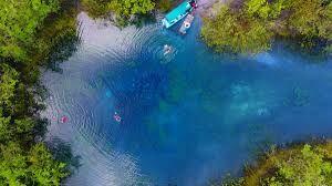 Cráter azul, Tikal y Balneario Las Conchas