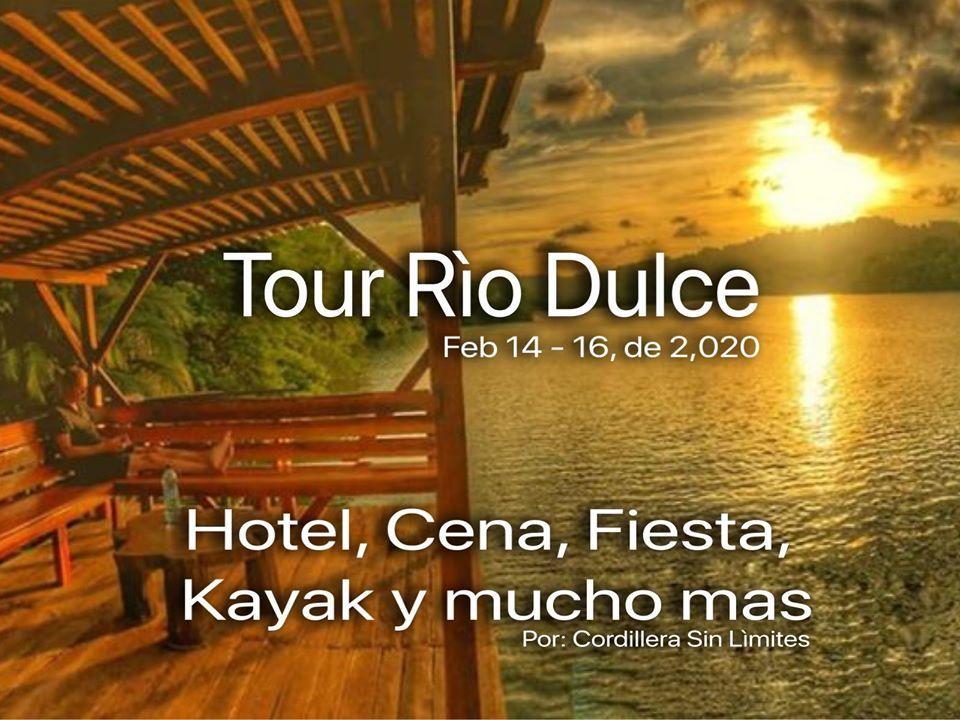 Tour Cañón de Río Dulce, Izabal