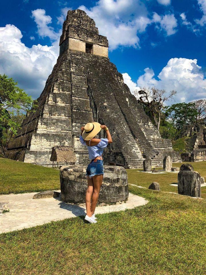 Tikal Mundo Maya Año Nuevo