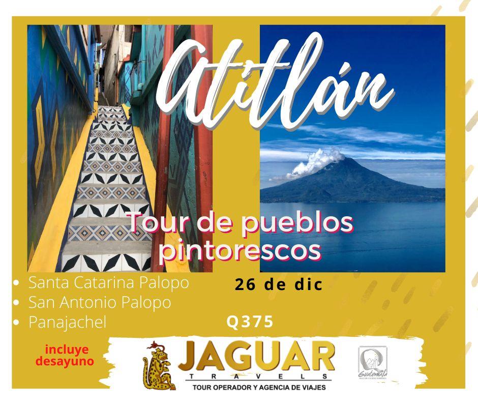 Tour de pueblos pintorescos de Atitlan