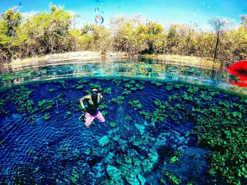 Parque Nacional Tikal, Cráter Azul y Hun Nal Ye